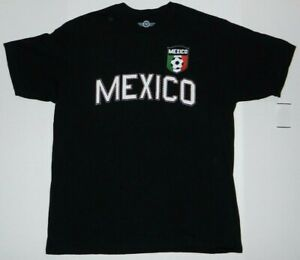 Mexico-Futbol-Soccer-Flag-Logo-Tee-shirt-New