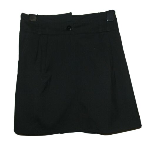 CCC FAB NEW GIRLS EX STORE BLACK A LINE POCKET SCHOOL SKIRT AGE 7-16 years