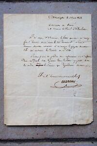 Lettre de Louis-Marie Turreau de Lignières datée du 5 mars 1808