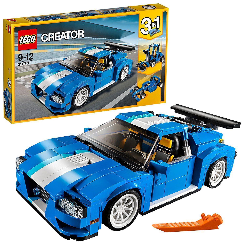 LEGO 31070 - Creator 3in1 - Auto da corsa - Turbo Tracker - nuovo sigillato