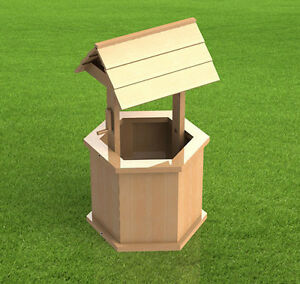 Image Is Loading Yard And Garden Wishing Well Plans Easy To