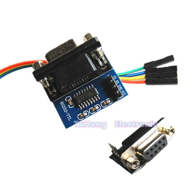 2PCS MAX3232 RS232 To TTL Converter Module COM Serial Port Board max232