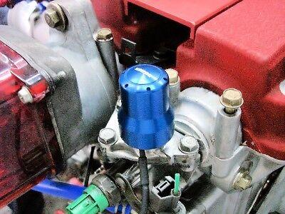 INTEGRA GSR VTEC ENGINE BILLET SOLENOID COVER BLUE