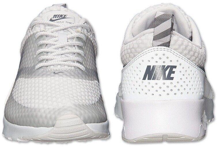 Nike Air Max Thea Thea Max Aufdruck Damen Netz M Basis Grau - Metallisch - Cool Grau bcf229