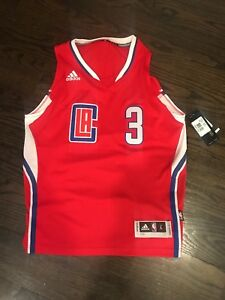 9f1b47dd049 Chris Paul Los Angeles Clippers Youth Large 14 16 Red NBA Jersey ...