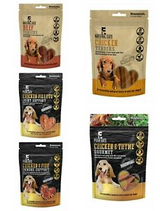 Rosewood-Natural-Eats-Healthy-Dog-Puppy-Treats-Chicken-Duck-Cod-Beef-Value