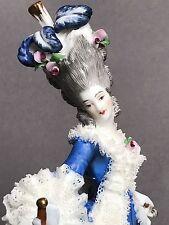 Antique Marie Antoinette German Kister Porcelain Dresden Figurine Half Doll