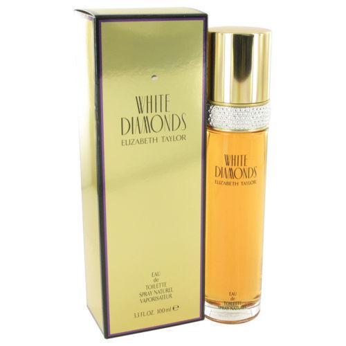 White Diamonds Elizabeth Taylor Women 3.3 oz 100 ml Eau De Toilette Spray Nib