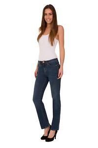 d88dfa61b8a Details about Ex M S Ladies Roma Rise Sculpt Jeans Straight Leg Size 6-22  Mark Spencer Per Una