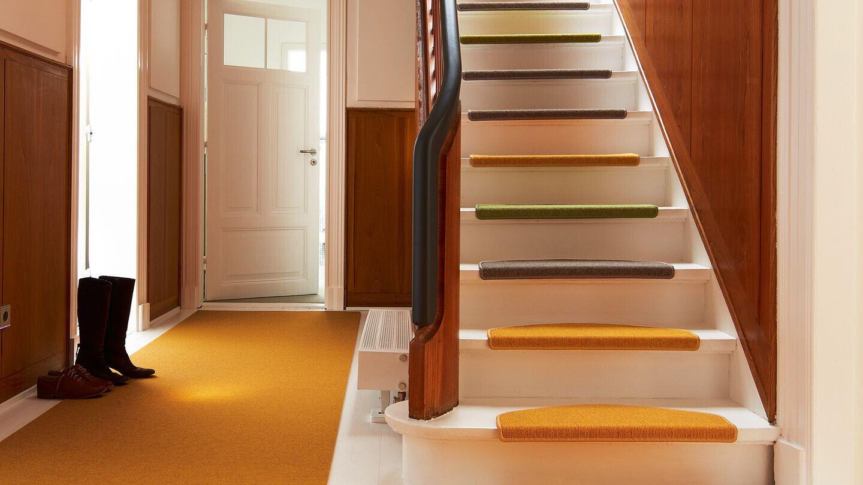 15 15 15 Stk Stufenmatten Tretford 514 Kaschmir-Ziegenhaar komfort mit Polsterung cb67bb