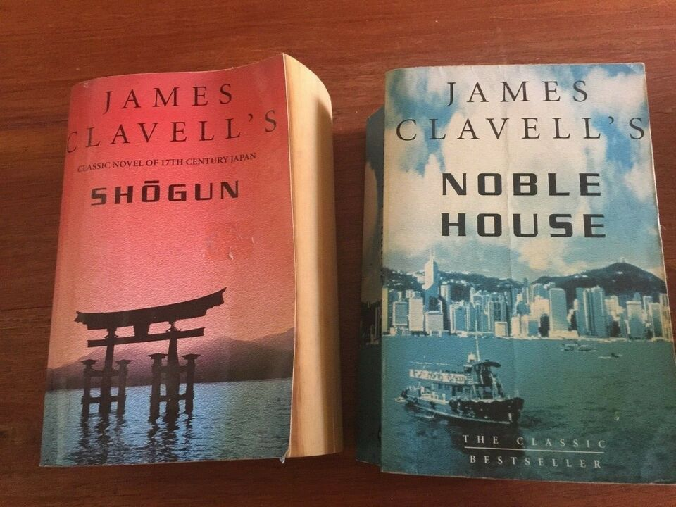 """Nobel House"" ""Shogun"", James Clavell"