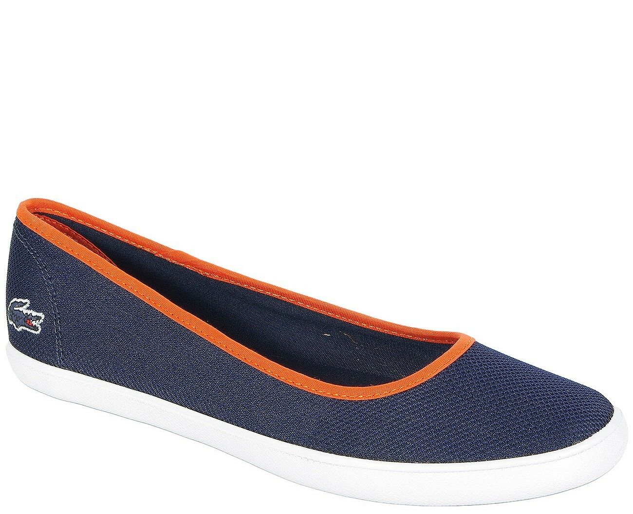 Lacoste ON SALE ballets MARTHE SLIP ON Lacoste 216 1 1003 SPW NVY TEX 9fe906