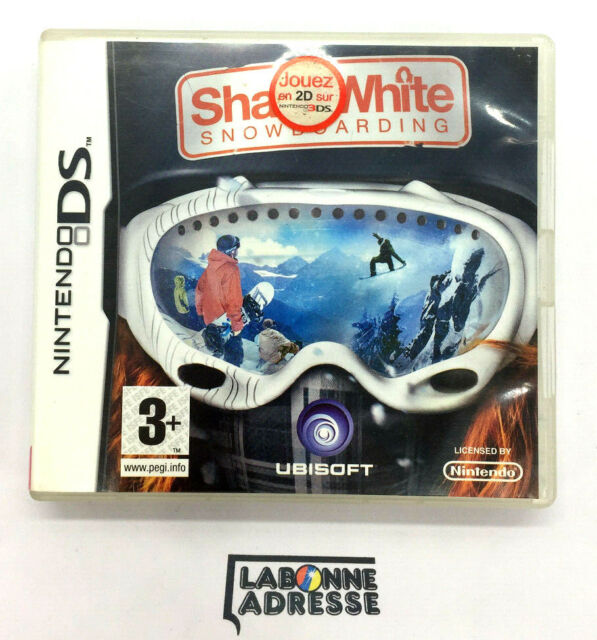 NINTENDO DS JEU VIDEO SHAUN WHITE SNOWBOARDING - COMPLET