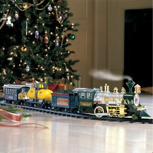 Traditional Around the Christmas Tree Train Set Decoration ...