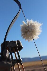Churro-Wool-Bow-String-Silencers-PAIR-3-034-Vanilla-color