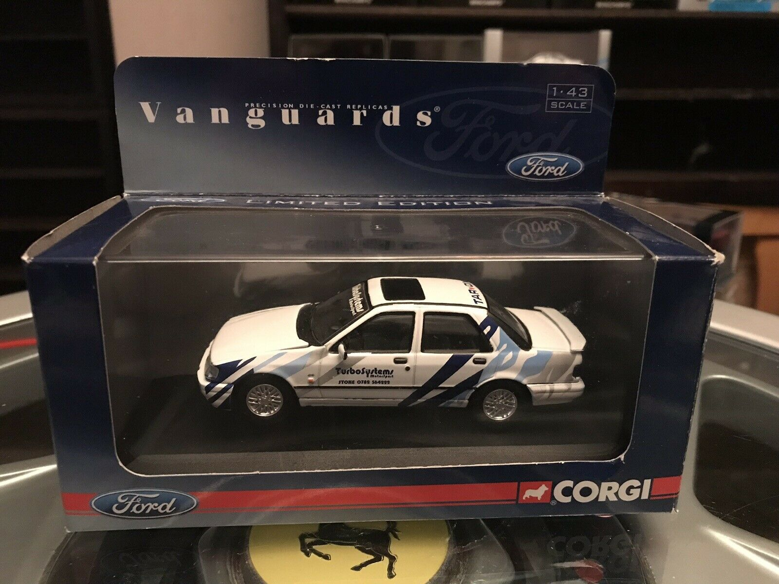 Vanguards Ford Sapphire RS Cosworth Turbo Systems 1 43 MIB Ltd Ed VA10005