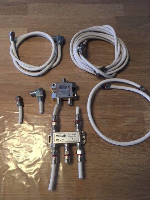 Antennesplitter, MFD-4, God