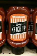 Whataburger 20oz spicy ketchup HEB TX exp.2018
