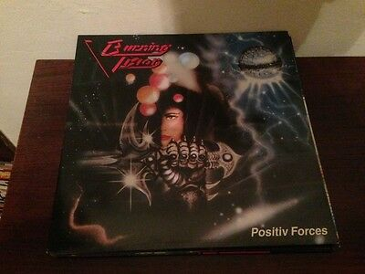 "BURNING VISION - POSITIV FORCES 12"" LP HEAVY METAL"