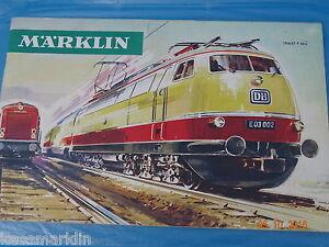 Marklin Catalogue 1966/67  F  Bfrs