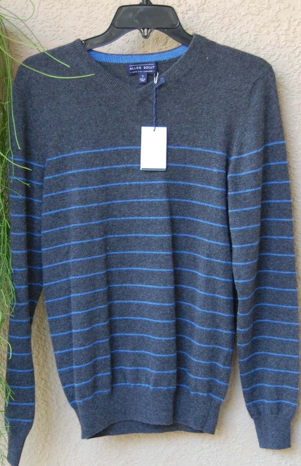 23ca69c07 Allen Solly Men's Cashmere Sweater size Small S Authentic NWT 100 ...