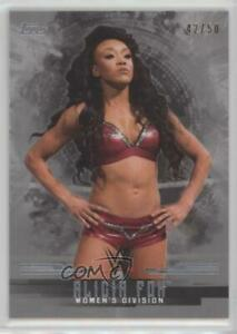 2017 Topps WWE Undisputed Women/'s Division #W2  ALICIA FOX