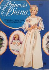 FASHION COLLECTION PRINCESS DIANA PAPER DOLL BOOK 1980' S FASHION