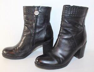 b98a0b7f9a4dea Das Bild wird geladen GEOX-RESPIRA-Stiefeletten-ANKLE-BOOTS-41-Schuhe-UK7-