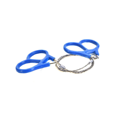 Stainless Steel Ring Wire Camping Saw Rope Outdoor Survival Emergency Tools CPEV