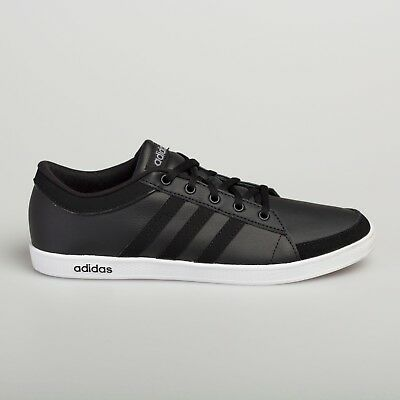 Adidas Men's Women's Leather Trainers Calneo Lite Racer Hoops VL Black White