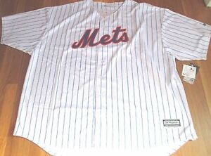 2ad87dfc NEW MAJESTIC MLB NEW YORK METS JACOB DEGROM COOL BASE JERSEY 6X | eBay