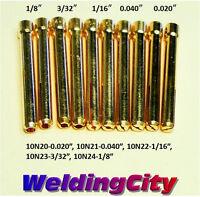 20 Collets 10n21 10n22 10n23 10n24 10n25 Tig Welding Torch 17/18/26
