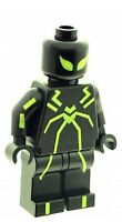 Custom Minifigure Spiderman (Stealth Suit Green) Printed on LEGO Parts