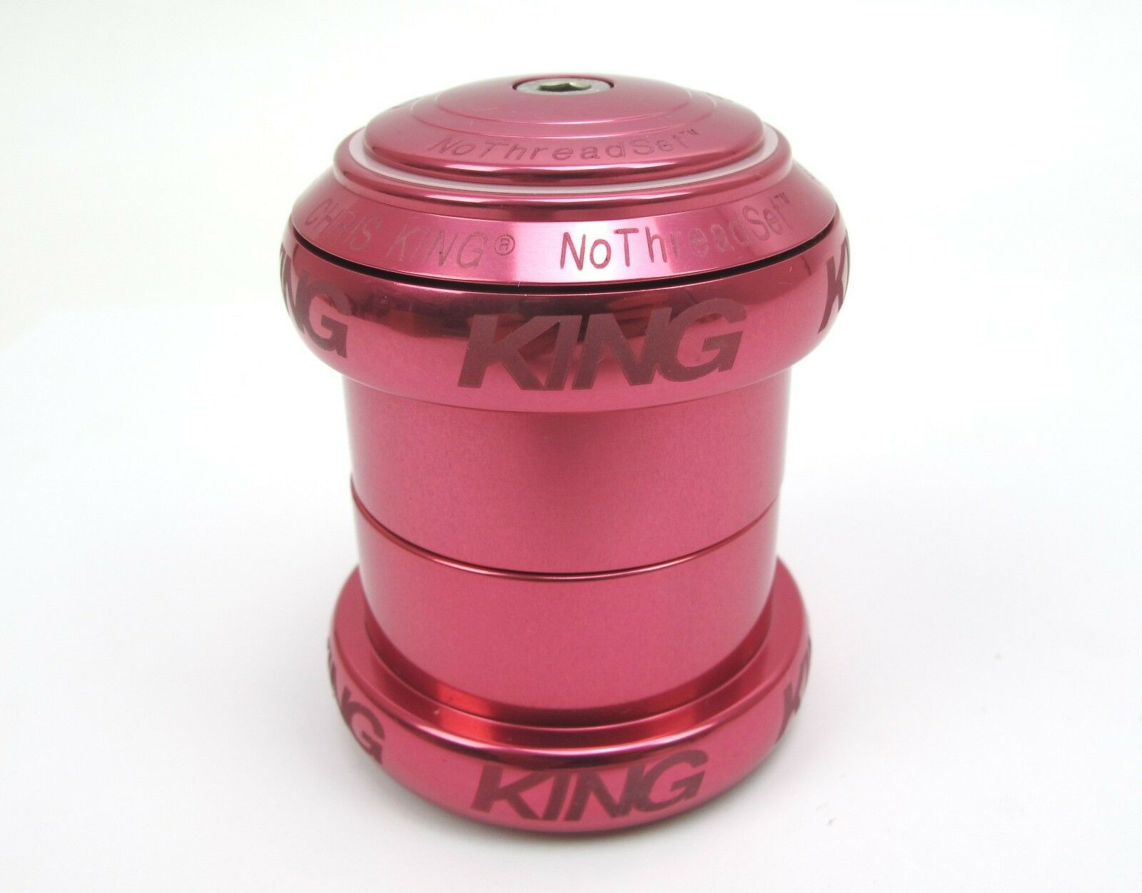 NEW Chris King NoThreadSet - 1.5  - Pink Sotto Voce - 10 Year Warranty