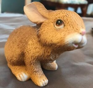 Baby-Bunny-Rabbits-Figurine-Homco-1465-Figurine-easter-spring-collectibles