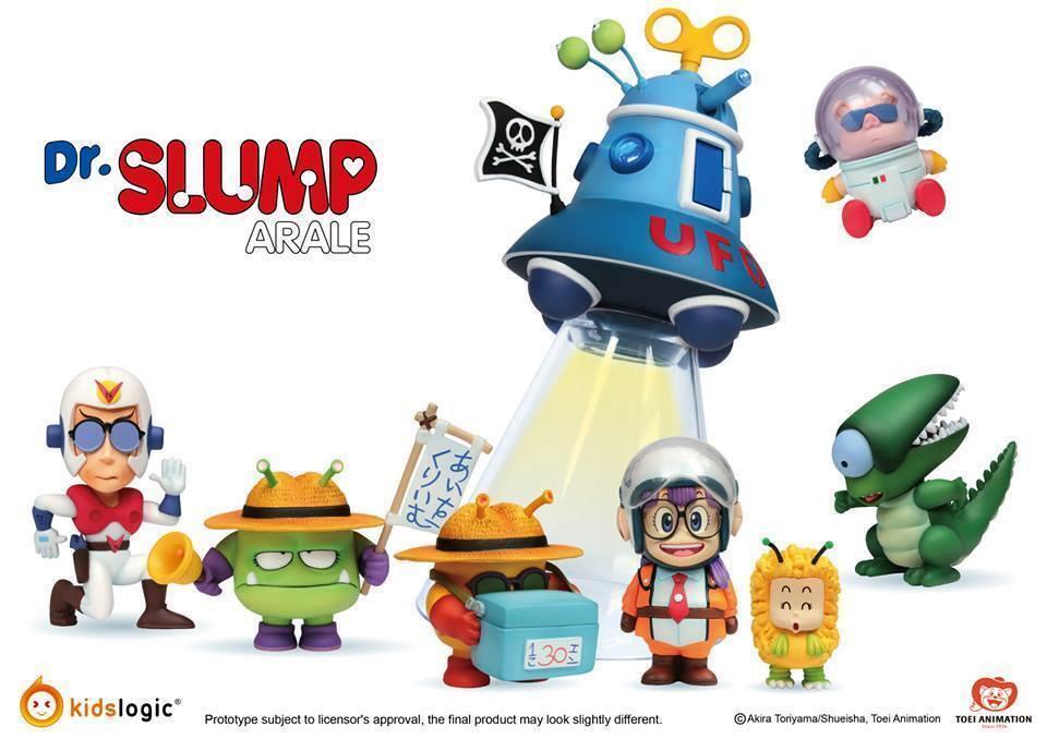 Kids Logic Kids Nations Series AR02 Dr. Slump Arale Figure Full Set UFO