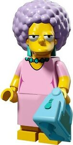 The-Simpsons-2-Lego-collectible-minifig-Patty-Bouvier-with-bag