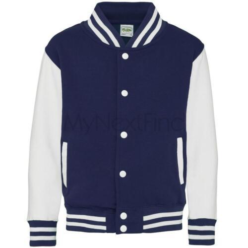 AWDis Just Hoods Kids Varsity Jacket