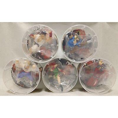 Street Fighter V  Ryu, Chun-Li Cammy, Balrog, Vega mini figure collection 5 set