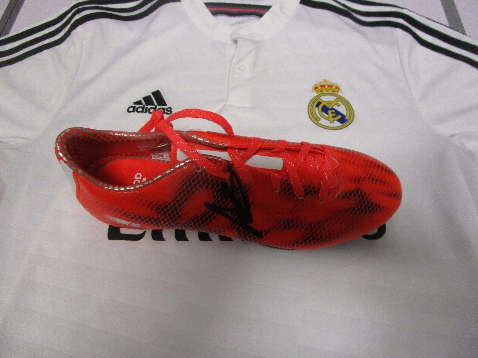 Gareth Bale (Real Madrid) firmado Bota De Fútbol Adidas (rojo)