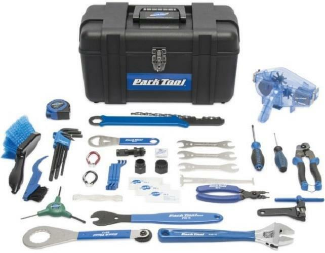 Park  Tool AK-3 Advanced Bicycle Mechanic 40+ Piece Tool Kit with Tool Box   Case  free shipping!