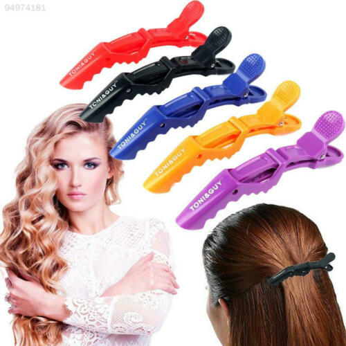 6PCS Alligator Hair Clip Crocodile Makeup Bows Accessories Salon Clamp 37699A5