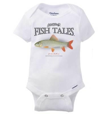 Fish Tale Redhorse Fishing ShirtSporting Goods Gill McFinn Romper Bodysuit