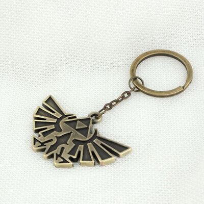 Keychain Bronze 1* Legend of Zelda Triforce Keychain Zelda Logo Key Chain