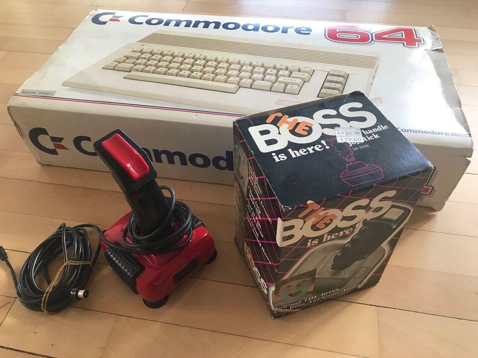Den oprindelige Commodore 64 fra 1980`erne, i æ...