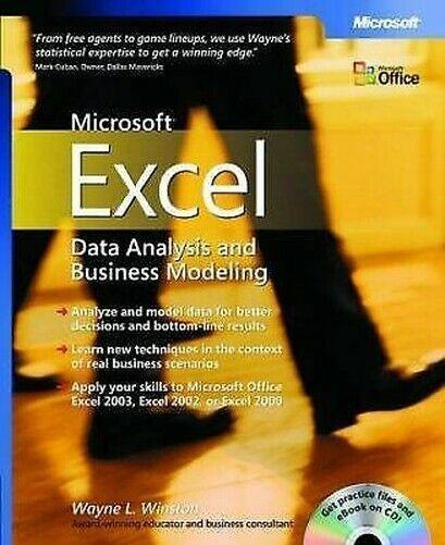 Microsoft Excel Daten Analysis Und Business Modeling Taschenbuch Wayne L Winston