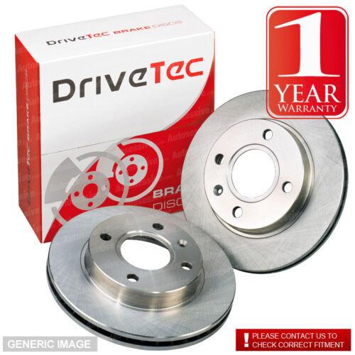 Skoda Roomster 10-1.6 TDI 89 Drivetec Front Brake Discs 256mm Vented