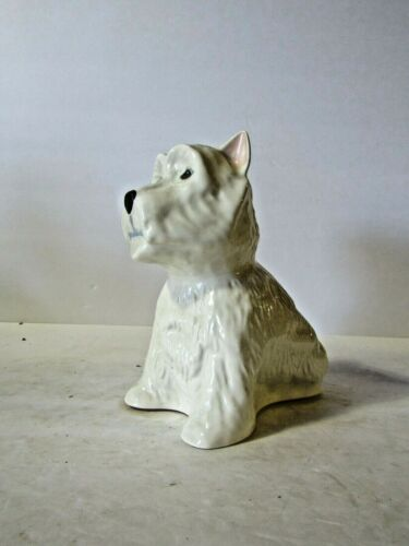 Black /& white Scotch West Highland White Terrier backbar  Piece Solid 1 Piece