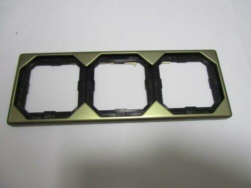 K2//K5 Merten 399342 Rahmen 3-fach OCTOCOLOR bronze