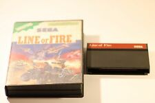 Sega Master System  Boxed Game Line Of Fire 1991  (no manual)